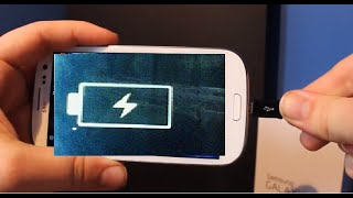 Samsung Galaxy Battery Not Charging FIX White Lightning Bolt Wont Turn On S6 S5 S7 S8 Edge Android