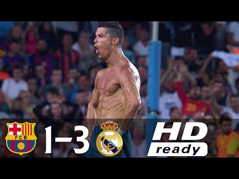 Xxx Mp4 Barcelona Vs Real Madrid 1 3 All Goals Highlights Spanish Super Cup 2017 3gp Sex