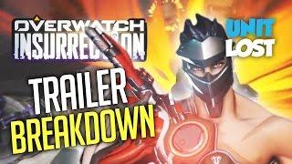 Overwatch Insurrection - DETAILED TRAILER BREAKDOWN! [ALL SKINS AND SPRAYS!]