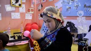 معرض للأشغال اليديوية من أنتاج الأطفال المعاقيين بمناسبة أسبوع الصم و البكم ال 43
