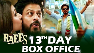 Download Shahrukh's RAEES - 13TH DAY BOX OFFICE COLLECTION 3Gp Mp4