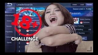 KARINA VS FREYA, YANG KALAH = BUKA BAJU..!! - Mobile Legends indonesia