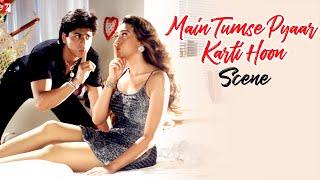 Scene: Dil To Pagal Hai | I Love You.. Rahul | Shah Rukh Khan | Karisma Kapoor