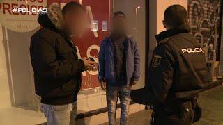 Policías en acción - Jóvenes delincuentes