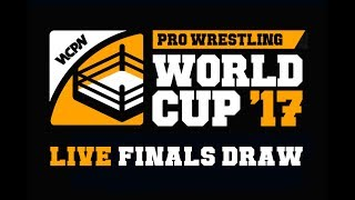LIVE Draw For Pro Wrestling World Cup Finals Bracket
