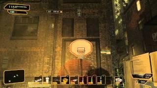 Deus Ex Human Revolution - How to Shoot Hoops (Balls Achievement / Balls Trophy)