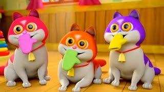 Three Little Kittens | Nursery Rhymes Songs for Children | Kids Cartoon by Little Treehouse