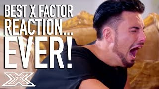 Rylan Clark Gives The Best X Factor Reaction...EVER!!! | X Factor Global
