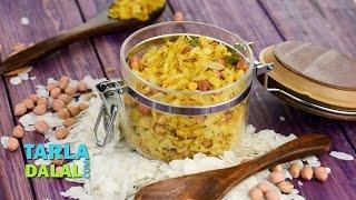 Poha Chivda by Tarla Dalal / Diwali Dry Snacks