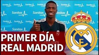 El primer día de Lopetegui y Vinicius en el Real Madrid| Diario AS