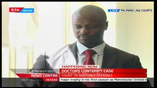 KMPDU Chair Samuel Oroko gives reasons why he should not be sentenced