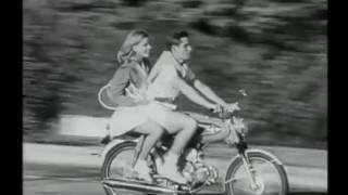 Classic honda bike moped cub commercial