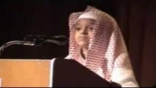 Cute Boy recites Quran.