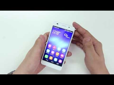 Hands On Preview 1920*1080 HD Huawei Honor 6 3G RAM 16G rom 13MP octa core cpu 5