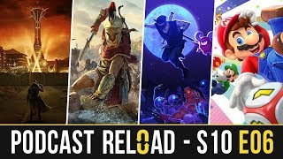 Podcast Reload: S10E06 – Assassin's Creed Odyssey, The Messenger, Super Mario Party