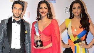 Uncut: Hello Hall Of Fame Awards 2016   Ranveer Singh,Aishwarya Rai, Sonam Kapoor
