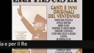 Era fascista - Addio mia piccola (Album Version)