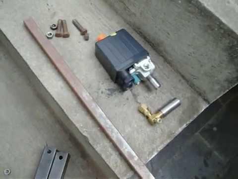 Fazendo compressor caseiro 1ª parte エアブラシの� 造機