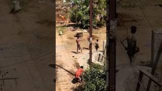 Laxmipur Boys Holi Fun.