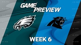 Philadelphia Eagles vs. Carolina Panthers   Week 6 Game Previews   NFL Playbook