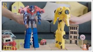 Transformers: Bumblebee v/s Optimus Prime