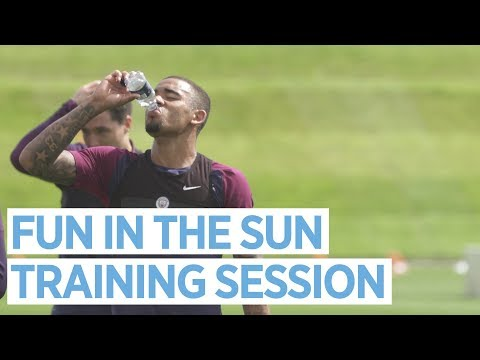 FUN IN THE SUN! | Man City Training