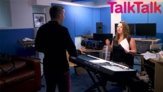 Learn how to sing like a seasoned pro -  Backstage with TalkTalk - The X Factor UK 2012
