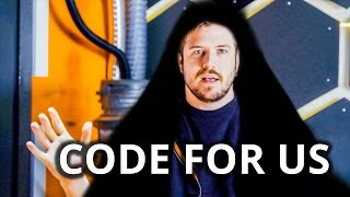 Where has Luke been? - Call for Coders 2017
