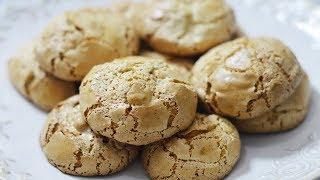 طرز تهیه شیرینی گردویی ایرانی با سطح ترکدار به سبک قنادی | Persian Walnut Sweets