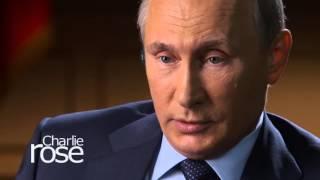 Vladimir Putin on Gay Rights in Russia (September 29, 2015) | Charlie Rose