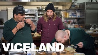 Australian Delicacies and a Live Metal Band with Action Bronson and Luis Guzmán