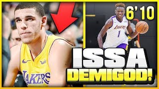 Meet The GERMAN FREAK Who Could Replace LONZO BALL As The Lakers Point Guard!