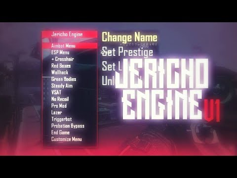🔵BO2 MOD MENU NON-HOST SPRX JERICHO ENGINE V1 +FREE DOWNLOAD