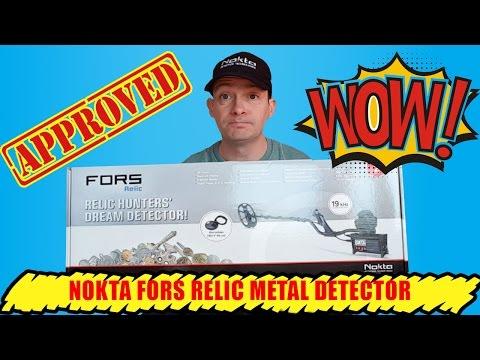 Nokta Fors Relic Metal Detector Review