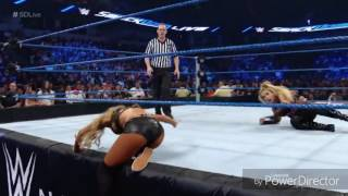 WWE Diva Carmella Hot Sexy Ass and Boobs On Smackdown Live 2016
