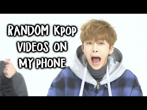 Apparently I have 1000 Kpop videos on my phone so here are some of them
