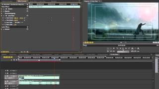 Clip 12  Adobe Premiere Pro CS5 for Mac : video effect   lens flare