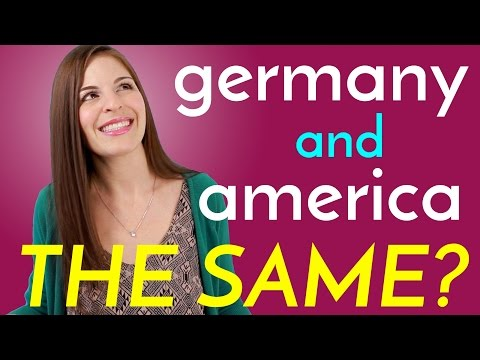 11 Ways the USA & Germany