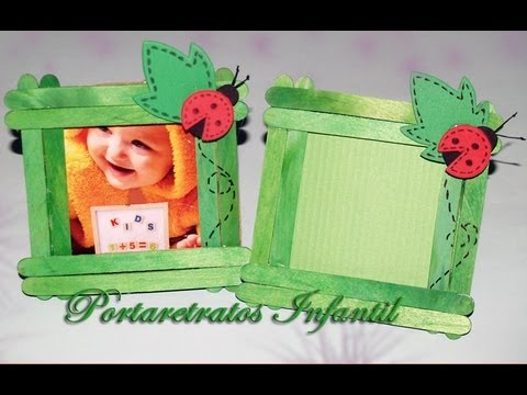 Portarretratos Infantil DIY Photo Frame for Childs