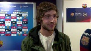 Sergi Roberto looks back on successful 2015