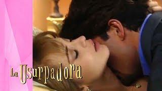 Paulina sucumbirá ante la pasión de Carlos Daniel | La Usurpadora - Televisa