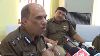 Police Headquarters a press meet