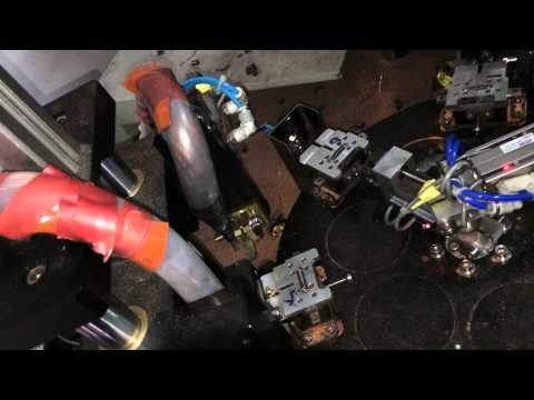 carbon brushes full automatic assembly welding machine