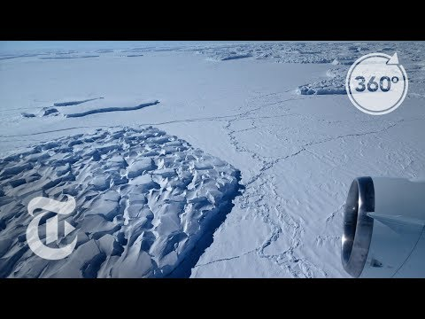 Predicting Antarctica's Fate By Studying The Ross Ice Shelf 360 VR Video The New York Times