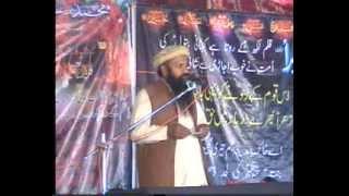 Ex Deobandi Allama Qari Sakhawat Hussain Biyan Mazhab e Haqqa at Majlis 2 des 2013 Shahpor