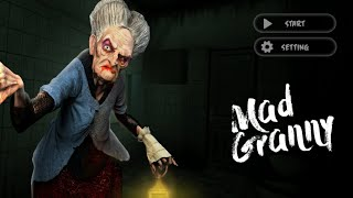 MAD GRANNY HOUSE - GAMEPLAY IOS,ANDROID