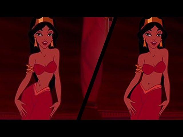 Women React To Realistic Disney Princess Waistlines