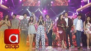 ASAP: LizQuen, DanRich & Kapamilya love teams sing 'Baby I Love Your Way'