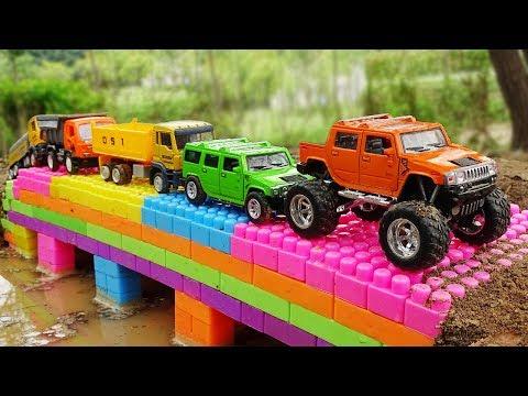 Xxx Mp4 Build Bridge Blocks Toys For Children Construction Vehicles For Kids 3gp Sex