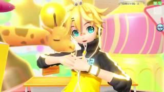 Project DIVA Arcade Future Tone Melancholic Kagamine Len Voice
